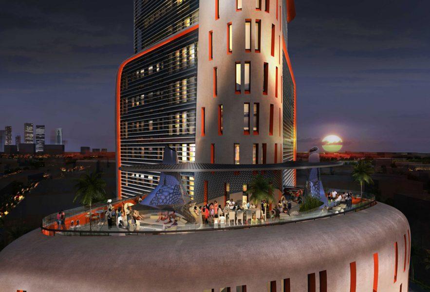 MAX Architects project Ramzi Towers Skyline