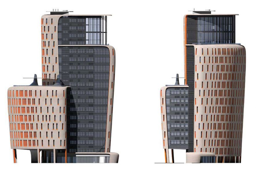 MAX Architects project Ramzi Towers